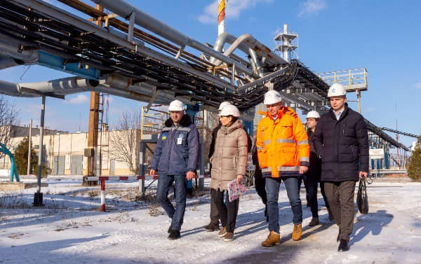Українська Енергетична Асоціація відвідала Шебелинський НПЗ в рамках проекту «Енергоаудит»